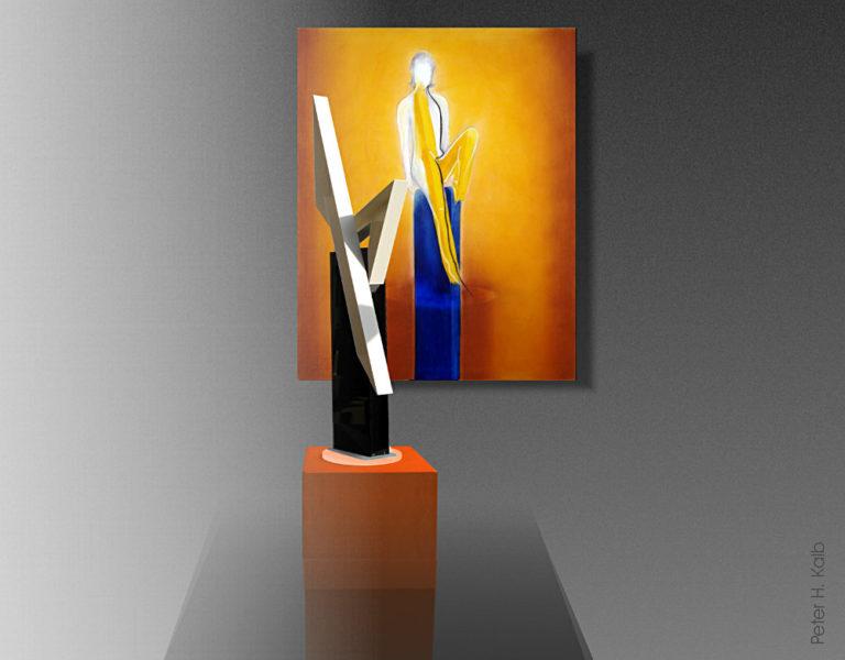 Skulptur und Bild, Ausgleich-B
