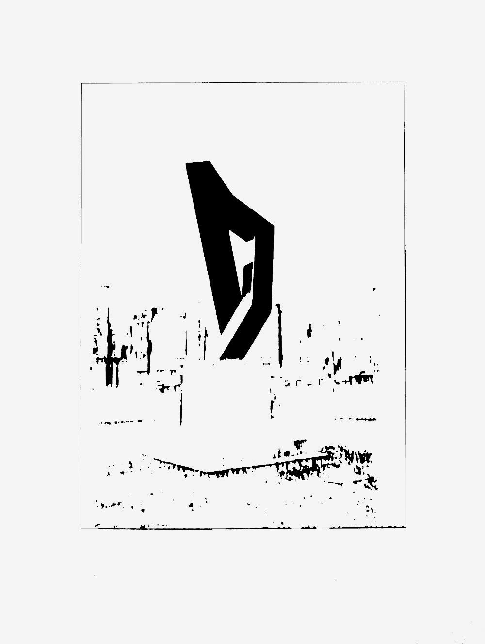 9-November-1989 Siebdruck