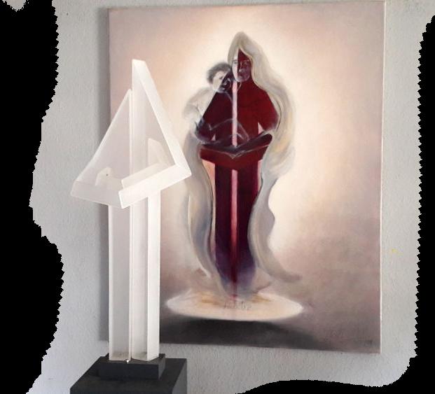 Ausstrahlung-Skulptur-Gemaelde1b