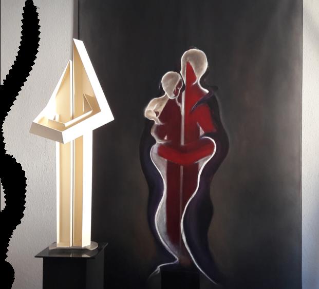 Ausstrahlung-Skulptur-Gemaelde4b