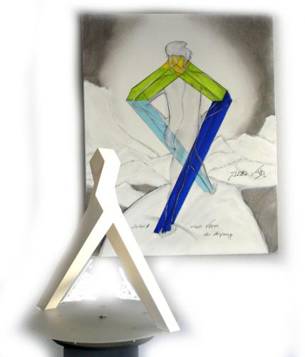 Schritt-nach-vorn-Skulptur-Gemaelde-4b