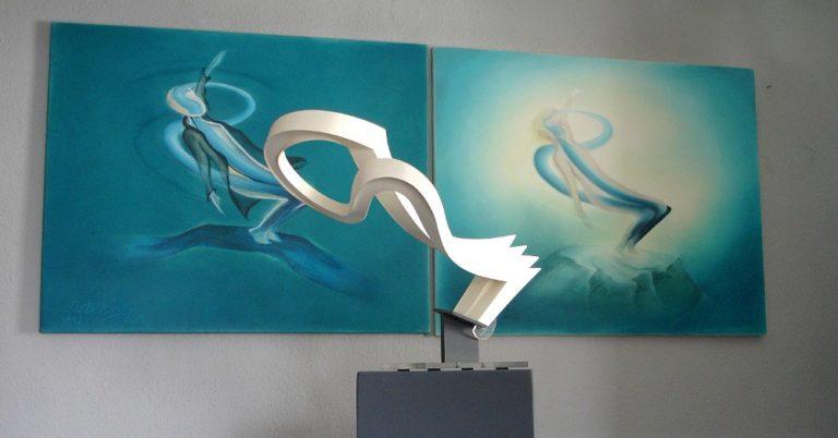 in-the-flow-skulptur-2gemaelde