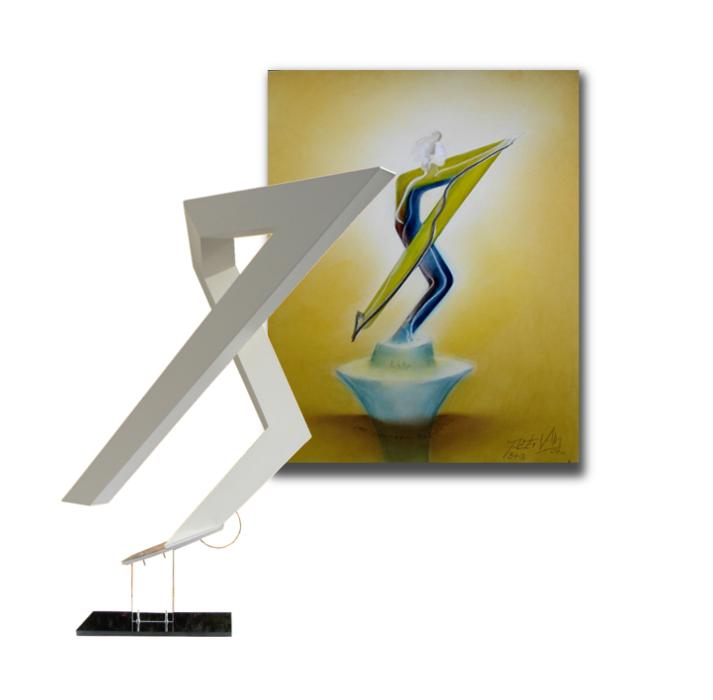 Grenzen-Skulptur-Gemalde-B